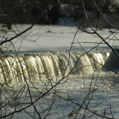 Photo: Dam on the Grand River.